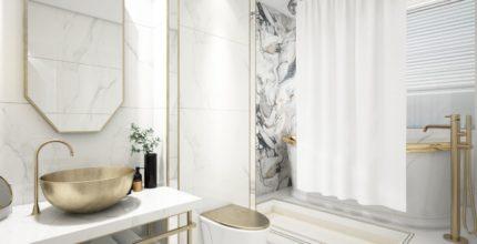 Eleganza e design in bagno: la pietra che fa la differenza